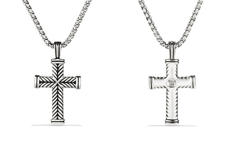 flag proverbs steel cross stainless necklace male american mens
